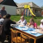 Spoločný obed na dedine v rámci Dňa zeme